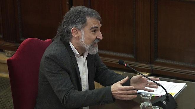 Jordi Cuixart: Yo soy un preso político, no un político preso.