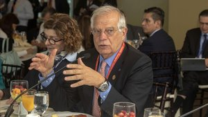El ministro de Asuntos Exteriores, Josep Borell