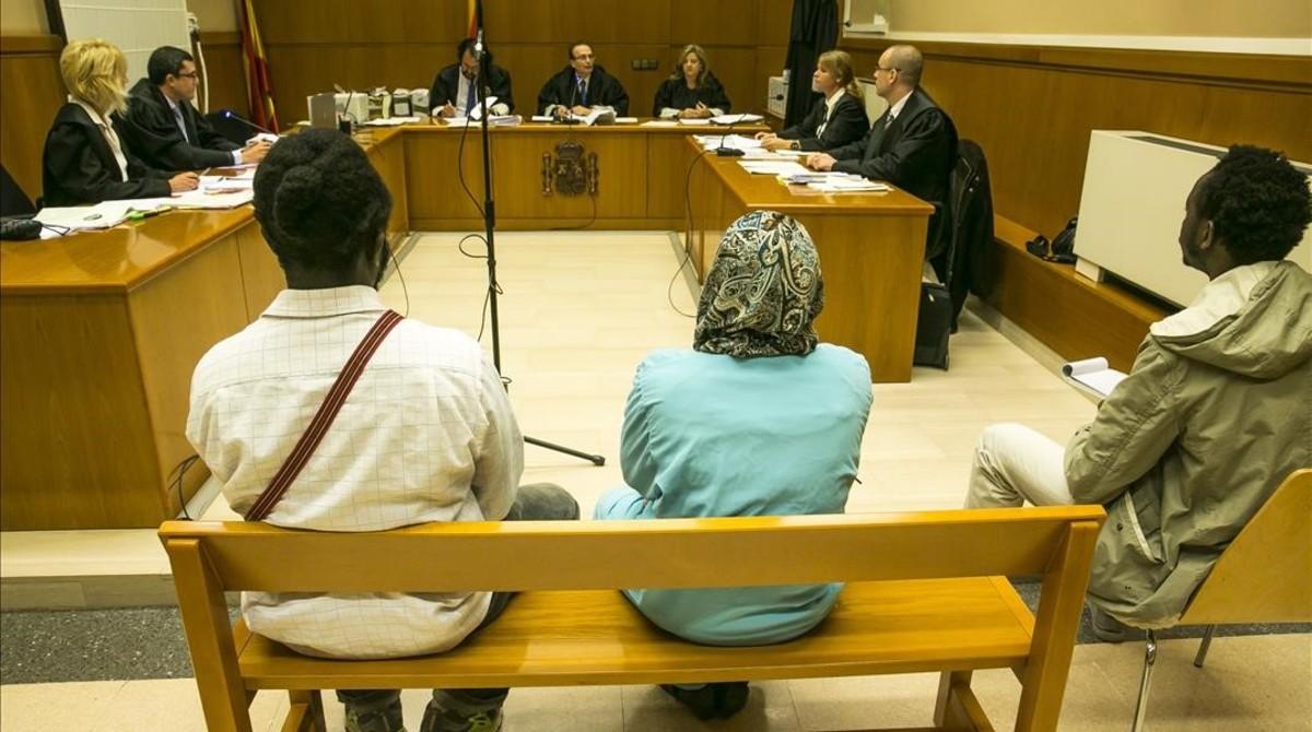 Un juicio con traductor en Barcelona.