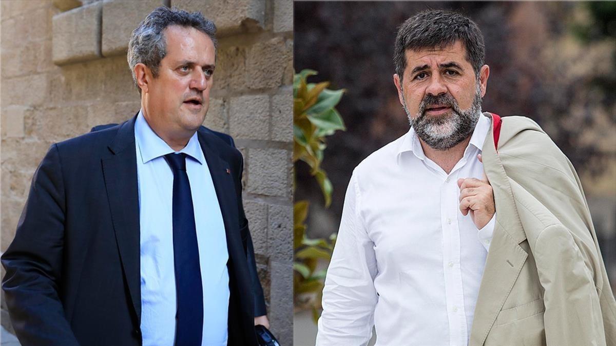 Jordi Sànchez i Joaquim Forn s'acrediten com a diputats al Parlament