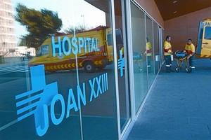 L'Hospital Joan XXIII, de Tarragona, pertanyent a l'Institut Català de la Salut (ICS), dissabte passat.