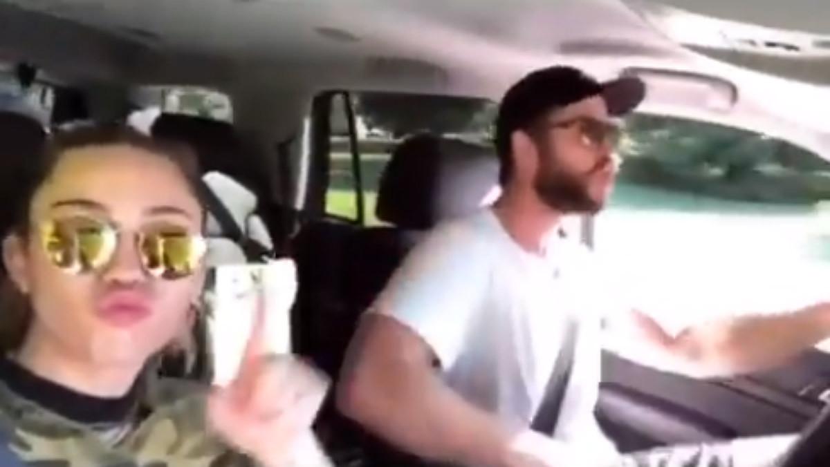 Liam Hemsworth y Miley Cyrus publican un vídeo para acallar rumores de crisis.