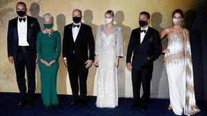 Milutin Gatsby,Hellen Mirren, el principe Alberto, Charlène de Mónaco, Andy García y Kate Beckinsale.