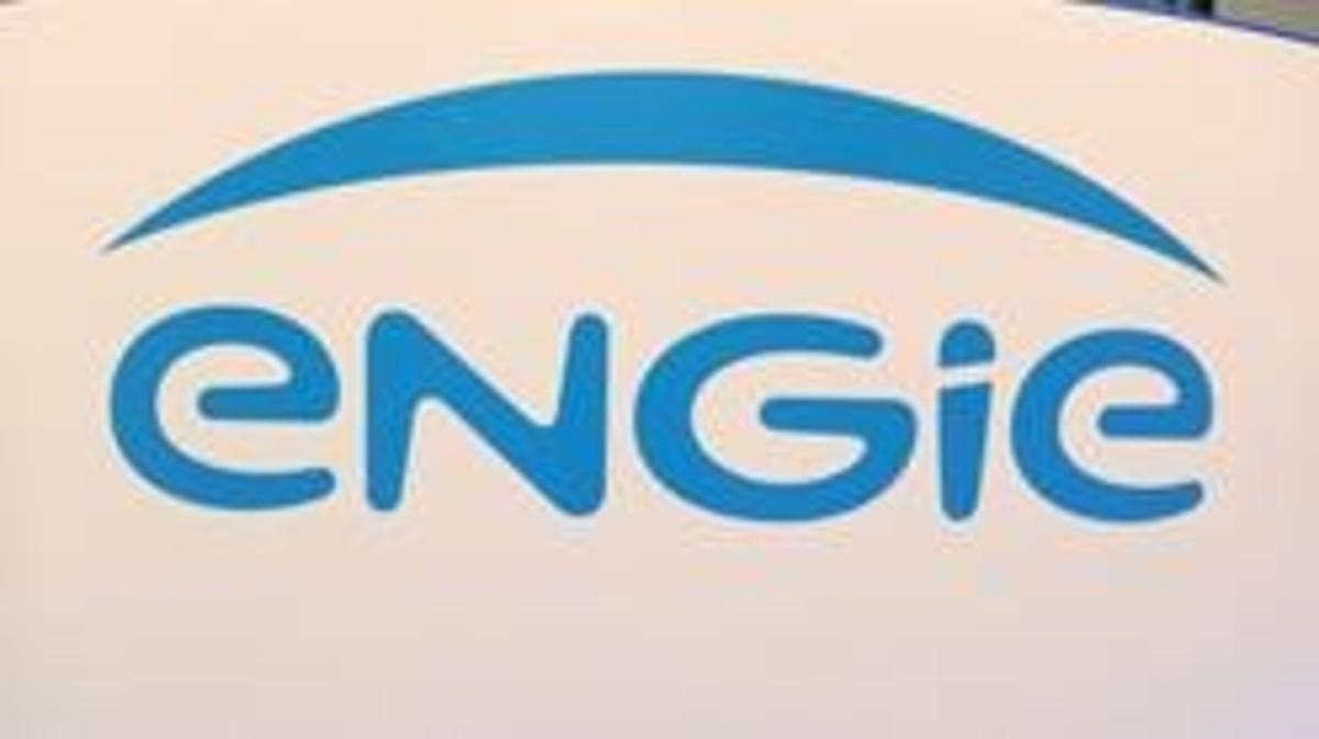 Logotipo de la empresa Engie, la antigua GDF Suez.