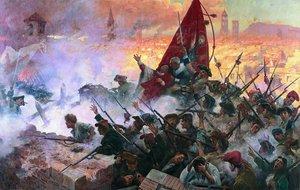 'L'Onze de Setembre de 1714', cuadro pintado por Antoni Estruch en 1909.