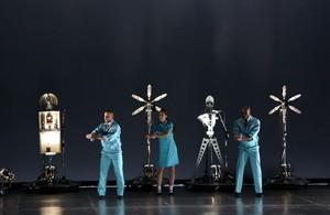 Un espectáculo en el Teatre Principal de Terrassa.