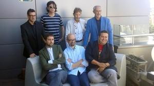 Los ganadores de los Premis Literaris de Girona.