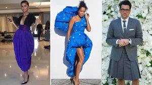 Los 'looks' más increíbles de los Emmys 2020: Zendaya, Regina King y Dan Levy.