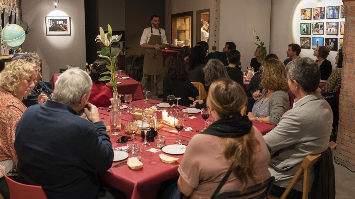 Para los más hambrientos, Cine y Cena ofrece un menú completo inspirado en la película proyectada.