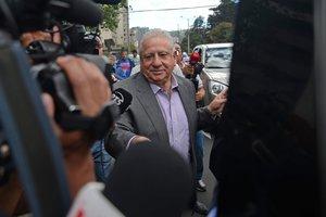 Luis Chiriboga, expresidente de la Federación de Fútbol de Ecuador.