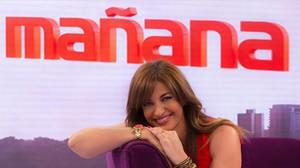 Mariló Montero. Expresentadora del magacín matinal de TVE-1 La mañana, que ha sido multado por la CNMC