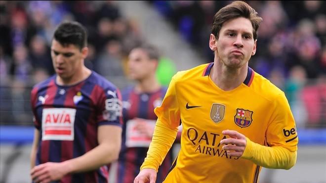 Jenn Díaz y Messi. Nos basta con uno: el mejor