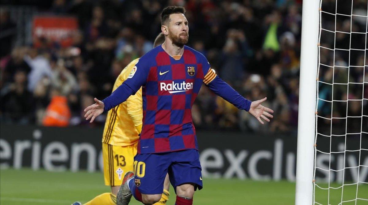 Messi ha vuelto a deslumbrar al Camp Nou.