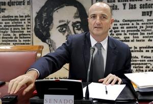 Miguel Sebastián, en el Senado.