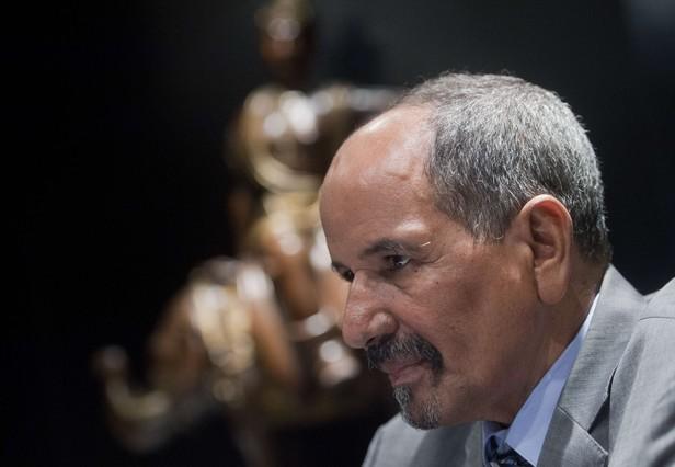 Presidente de la RASD y secretario general del Frente Polisario Mohamed Abdelaziz.