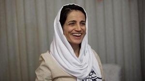 Nasrin Sotoudeh, en septiembre del 2018.