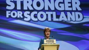 Nicole Sturgeon, a Aberdeen.