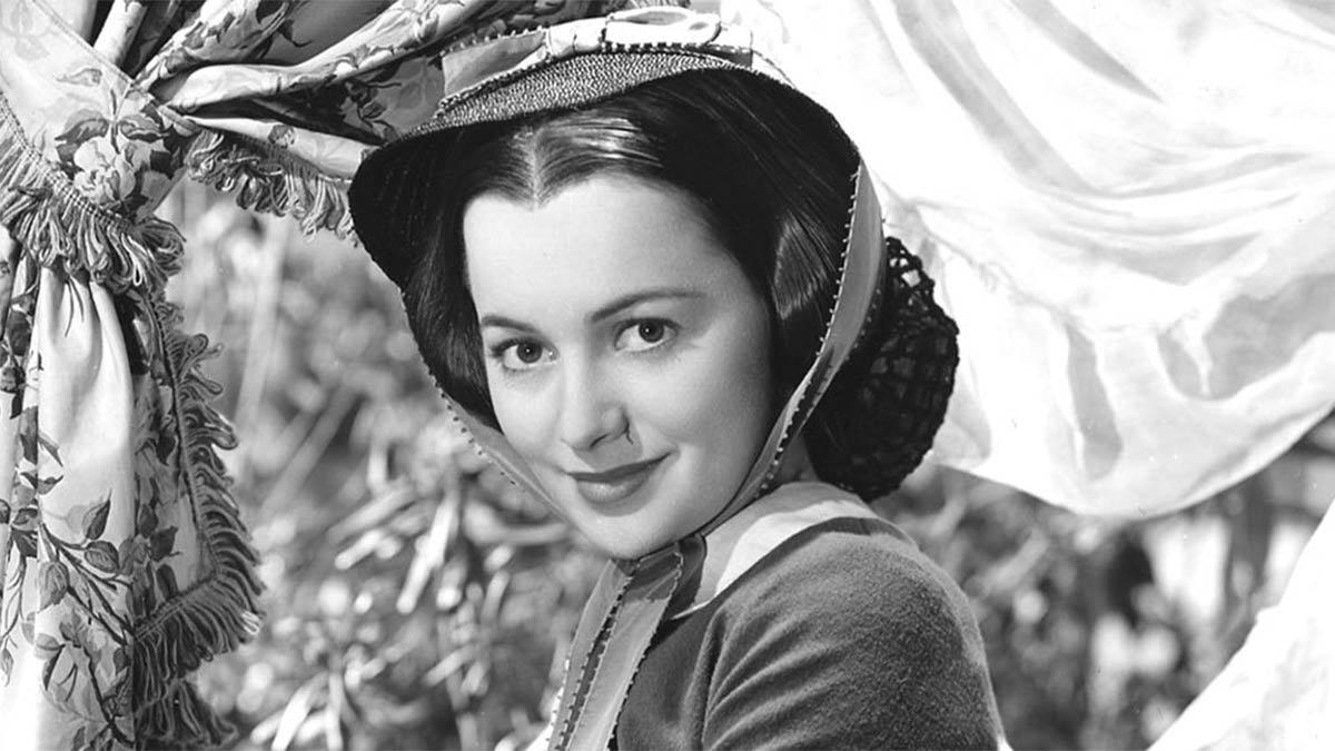 Olivia de Havilland, en 'Lo que el viento se llevó' (1939).