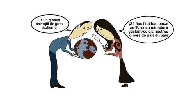 L'humor gràfic de Juan Carlos Ortega del 16 de Gener del 2019
