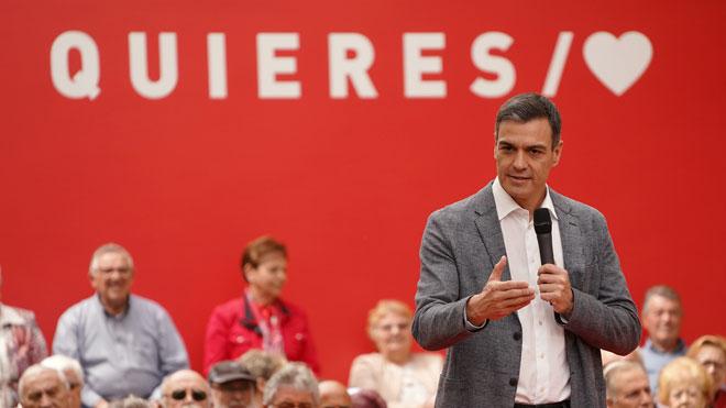 Pedro Sánchez acepta el debate a cuatro en RTVE.