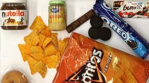 Productos de consumo que incluyen aceite de palma entre sus ingredientes.