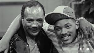 Quincy Jones y Will Smith, en el documental Quincy