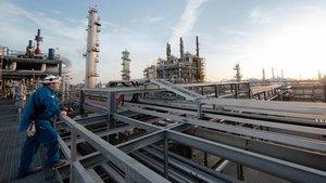 Refinería deOccidental Petroleum.