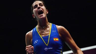 L'espanyola Carolina Marín es proclama tricampiona del món a la Xina