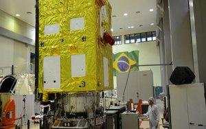 SatéliteCbers-4A creado de manera conjunta por Brasil y China.