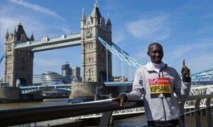 Wilson Kipsang, explusmarquista de marató, suspès quatre anys per dopatge