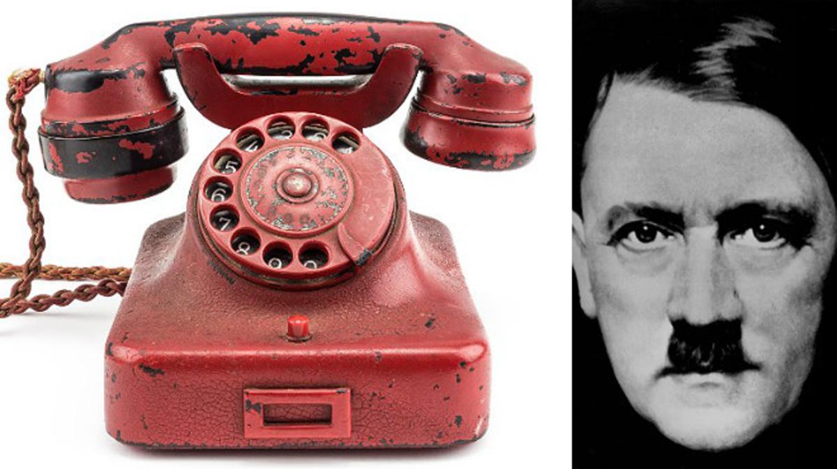 Euros por el tel fono rojo de hitler for De donde es el telefono