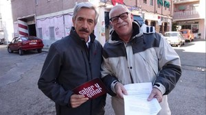 Antonio Alcántara (Imanol Arias), el patriarca deCuéntame, formula preguntas en Saber y ganar.