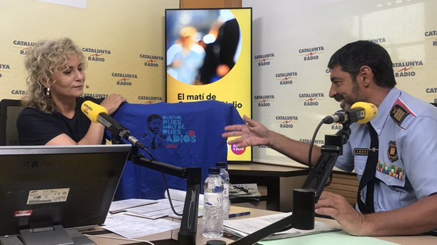 Trapero ha advertido hoy de que la policía catalana no sale bien librada en el reparto de la información de organismos de seguridad europeo.
