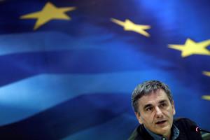 El ministro de Finanzas griego, Euclid Tsakalotos.