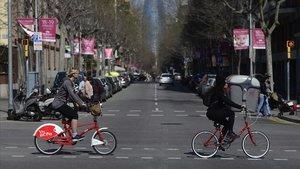 El 1 de enero termina la moratoria de la ordenanza de circulación que permite circular a las bicicletas por determinadas aceras.