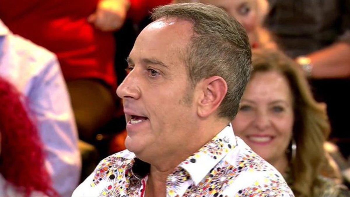 """Víctor Sandoval, sobre la grabación de 'Ven a cenar conmigo' con Carmen Borrego: """"Fue hasta la policía"""""""