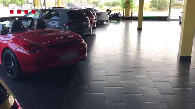 Cau una banda que venia cotxes de luxe manipulats al Maresme i Torredembarra