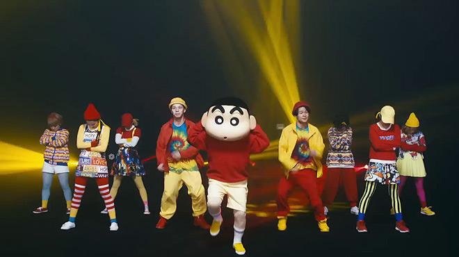 Videoclip de la celebración del 25 aniversario de Shin Chan.