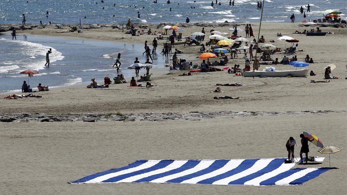 Playa de Benicàssim.