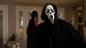 Fotograma de la película Scream.