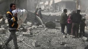 Prop de 250 morts per bombardejos a l'enclavament rebel sirià de Ghouta