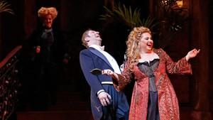 Liudmyla Monastyrska (Manon Lescaut), en una escena de la ópera dePuccini.