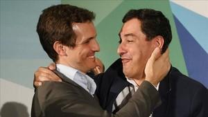 Casado a Torra: «El PP frenarà qualsevol intent de sedició»