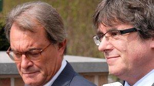 Artur Mas trenca amb Puigdemont i es queda al PDECat