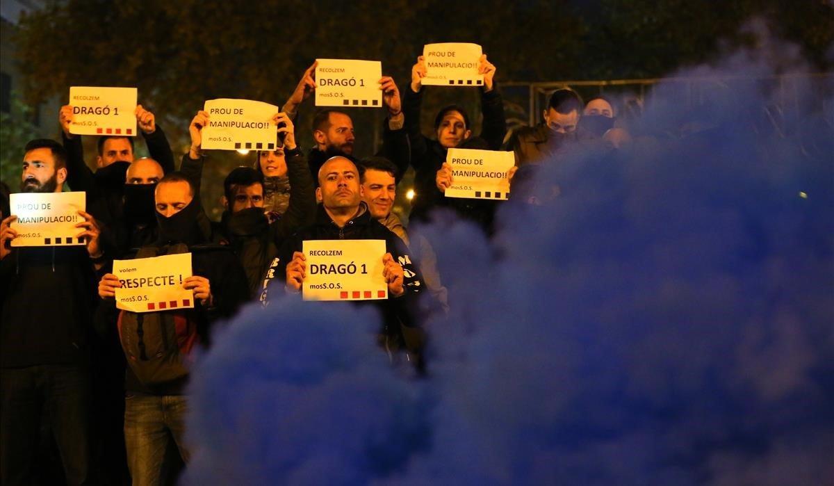 Els Mossos exigeixen cobrar com els Bombers