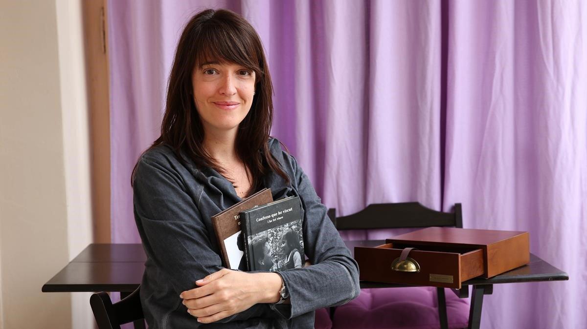 Gemma Bruna: «Recordar lo vivido es como imprimir las fotos»