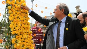 Torra declararà el 15 de maig davant del TSJC pels llaços grocs