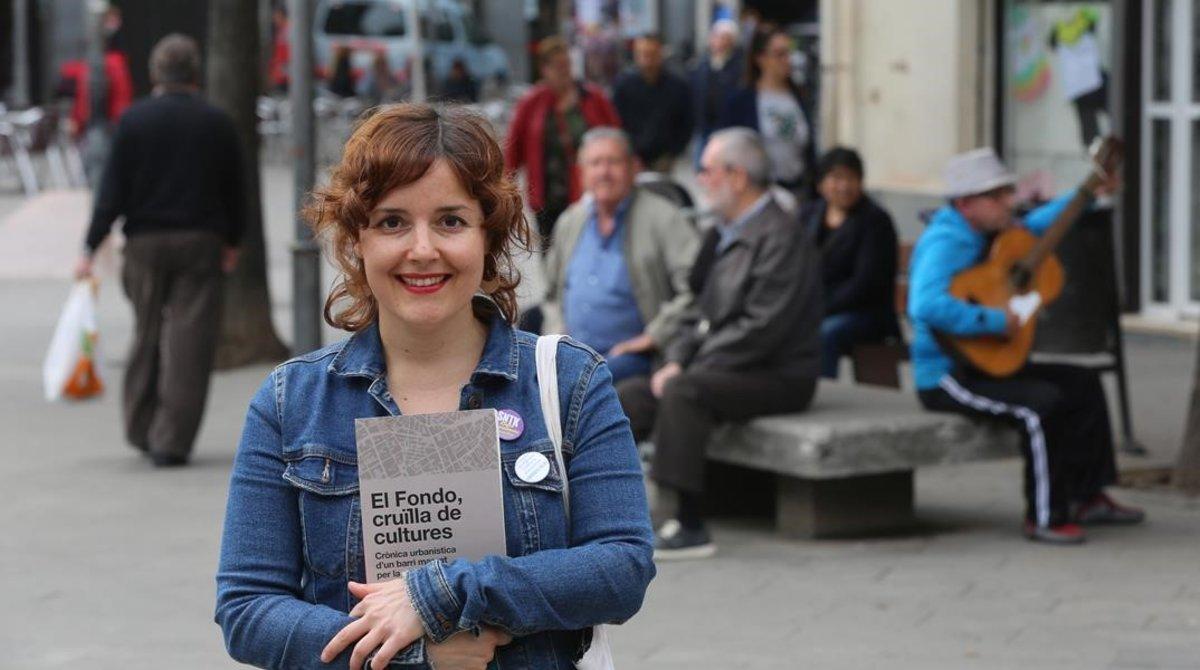 Isabel Martínez, autora del libro sobre la historia delFondo.