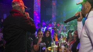 Los Pikilao, en la discoteca M7-Eclipse.