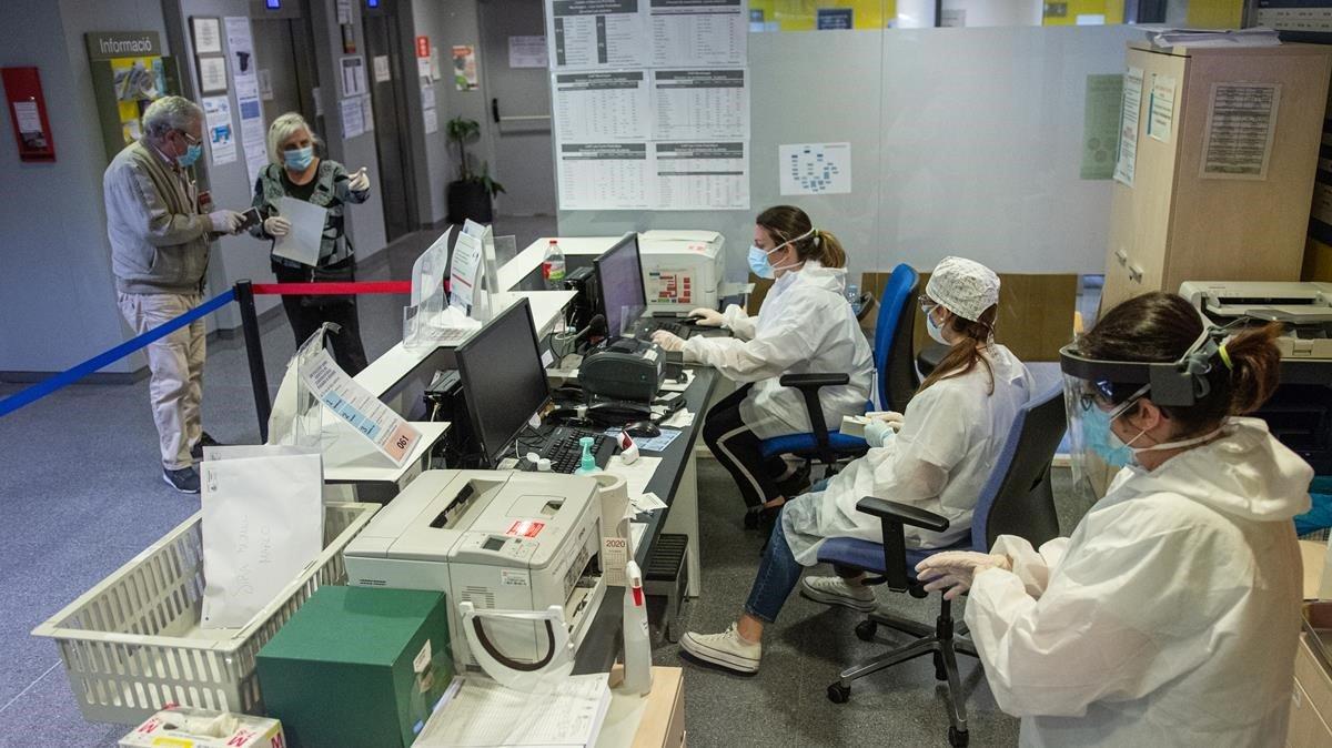 L'Atenció Primària tem que la pressió pel coronavirus es traslladi als ambulatoris
